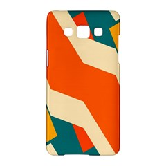 Shapes In Retro Colors                                                                                  samsung Galaxy A5 Hardshell Case