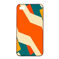 Shapes in retro colors                                                                                  Apple iPhone 4/4s Seamless Case (Black)