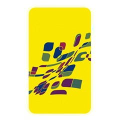 Yellow abstraction Memory Card Reader