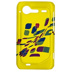 Yellow abstraction HTC Incredible S Hardshell Case