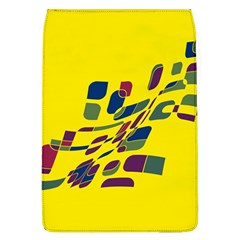 Yellow abstraction Flap Covers (L)