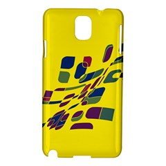 Yellow abstraction Samsung Galaxy Note 3 N9005 Hardshell Case
