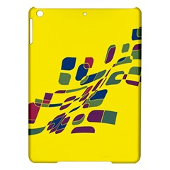 Yellow abstraction iPad Air Hardshell Cases