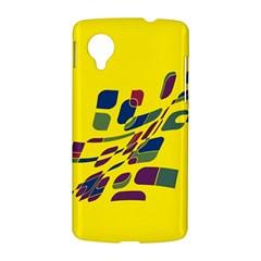 Yellow abstraction LG Nexus 5