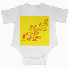 Yellow abstraction Infant Creepers