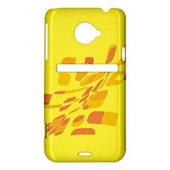Yellow abstraction HTC Evo 4G LTE Hardshell Case