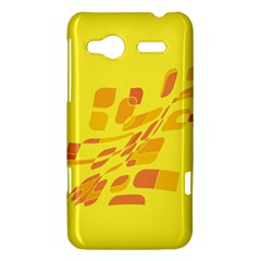 Yellow abstraction HTC Radar Hardshell Case