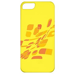 Yellow abstraction Apple iPhone 5 Classic Hardshell Case