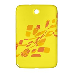 Yellow abstraction Samsung Galaxy Note 8.0 N5100 Hardshell Case