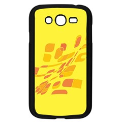 Yellow abstraction Samsung Galaxy Grand DUOS I9082 Case (Black)
