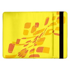 Yellow abstraction Samsung Galaxy Tab Pro 12.2  Flip Case