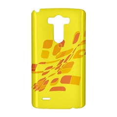 Yellow abstraction LG G3 Hardshell Case