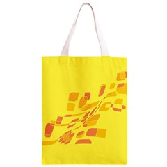 Yellow abstraction Classic Light Tote Bag