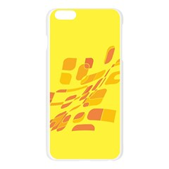 Yellow abstraction Apple Seamless iPhone 6 Plus/6S Plus Case (Transparent)