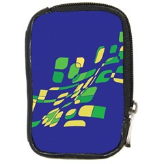 Blue abstraction Compact Camera Cases