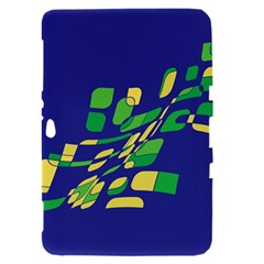 Blue abstraction Samsung Galaxy Tab 8.9  P7300 Hardshell Case