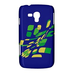 Blue abstraction Samsung Galaxy Duos I8262 Hardshell Case