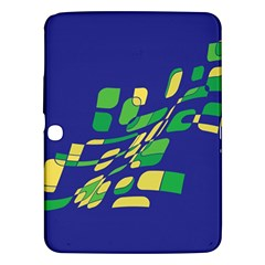 Blue abstraction Samsung Galaxy Tab 3 (10.1 ) P5200 Hardshell Case
