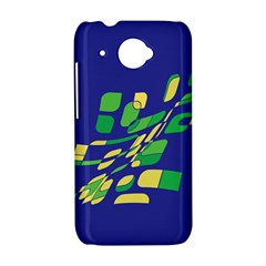 Blue abstraction HTC Desire 601 Hardshell Case