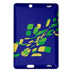 Blue abstraction Amazon Kindle Fire HD (2013) Hardshell Case