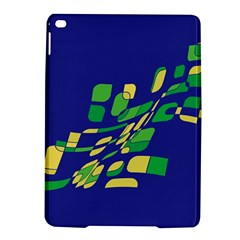 Blue abstraction iPad Air 2 Hardshell Cases