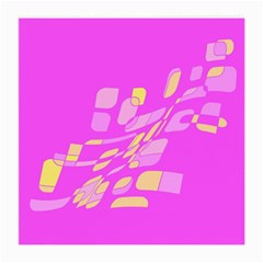 Pink abstraction Medium Glasses Cloth (2-Side)