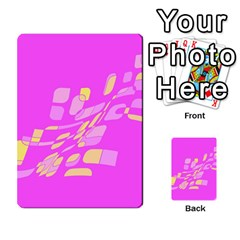 Pink abstraction Multi-purpose Cards (Rectangle)