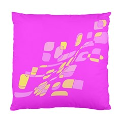 Pink abstraction Standard Cushion Case (Two Sides)