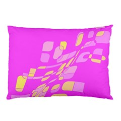 Pink abstraction Pillow Case