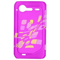 Pink abstraction HTC Incredible S Hardshell Case