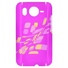 Pink abstraction HTC Desire HD Hardshell Case
