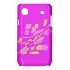 Pink abstraction Samsung Galaxy SL i9003 Hardshell Case