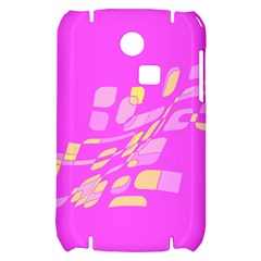 Pink abstraction Samsung S3350 Hardshell Case