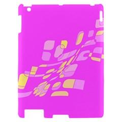 Pink abstraction Apple iPad 2 Hardshell Case