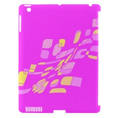 Pink abstraction Apple iPad 3/4 Hardshell Case (Compatible with Smart Cover)