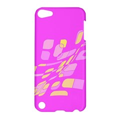 Pink abstraction Apple iPod Touch 5 Hardshell Case