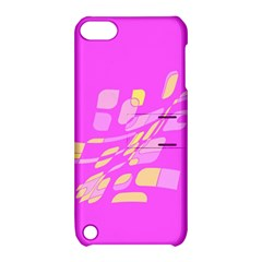 Pink abstraction Apple iPod Touch 5 Hardshell Case with Stand