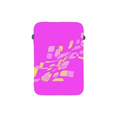 Pink abstraction Apple iPad Mini Protective Soft Cases