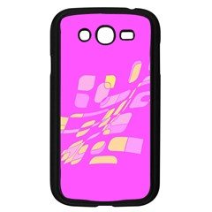 Pink abstraction Samsung Galaxy Grand DUOS I9082 Case (Black)