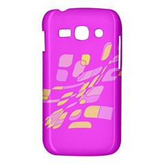 Pink abstraction Samsung Galaxy Ace 3 S7272 Hardshell Case