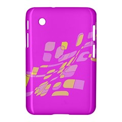 Pink abstraction Samsung Galaxy Tab 2 (7 ) P3100 Hardshell Case