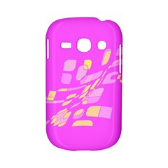Pink abstraction Samsung Galaxy S6810 Hardshell Case