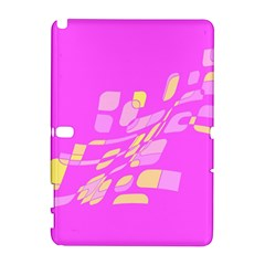 Pink abstraction Samsung Galaxy Note 10.1 (P600) Hardshell Case