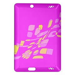Pink abstraction Amazon Kindle Fire HD (2013) Hardshell Case