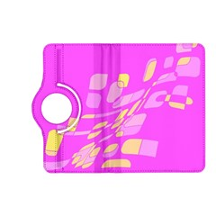 Pink abstraction Kindle Fire HD (2013) Flip 360 Case
