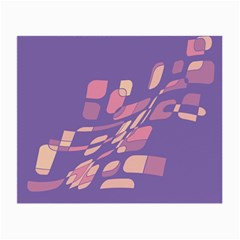 Purple abstraction Small Glasses Cloth (2-Side)
