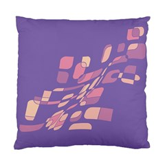 Purple abstraction Standard Cushion Case (One Side)