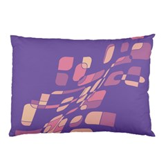 Purple abstraction Pillow Case