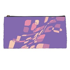 Purple abstraction Pencil Cases