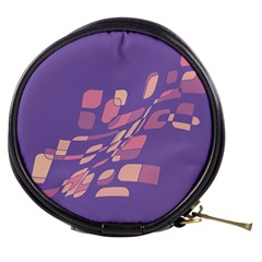 Purple abstraction Mini Makeup Bags